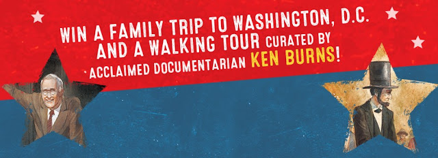 Random House is celebrating the release of Ken Burns book, Grover Cleveland Again by giving you a chance to enter once to win a fantastic trip to Washington DC for you and the kids!