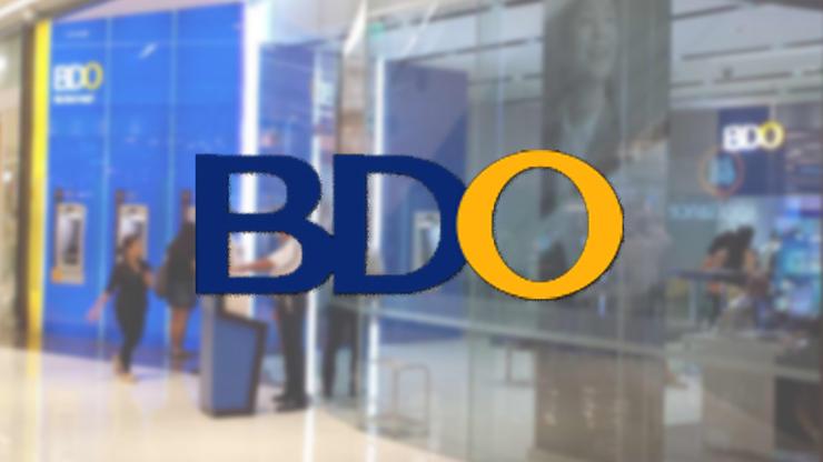 BDO Charge 10 Pesos Transaction fee