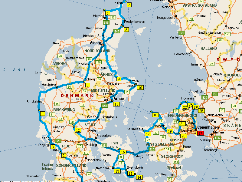 Denmark in a Motorhome - Summary of our Trip | Europe By ...