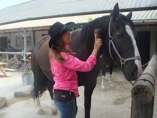 Riitta reissaa, horsexplore, gotland, stall änggård