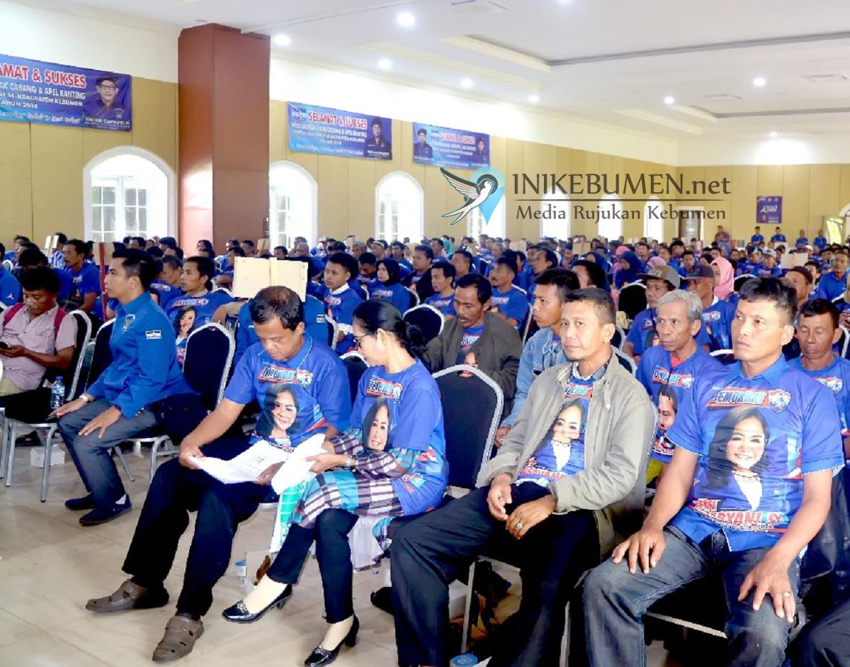 Jelang Pilgub Jateng, Demokrat Kebumen Bangkit
