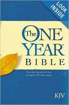 About Reading My Bible