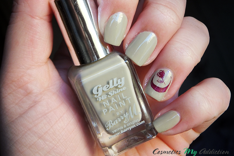 BARRY M | Gelly Hi-Shine Nail Paint w kolorze Olive