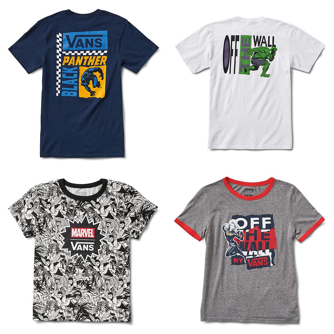 01fc7edc697929 The Blot Says...  Marvel Comics x Vans T-Shirt Capsule Collection