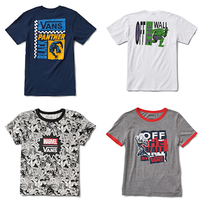 Marvel Comics x Vans Apparel Capsule Collection