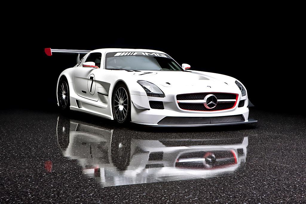 Mercedes SLS AMG GT3 Race Car