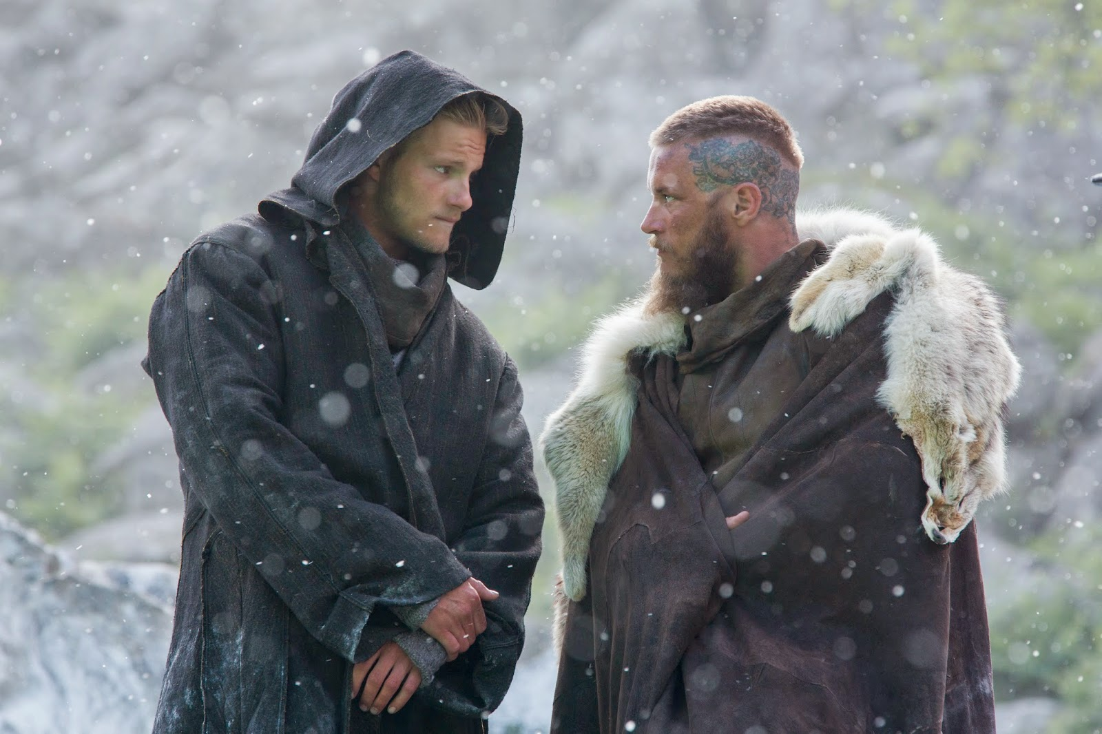 Actriz Porno Stacy Con Dane Harlow first clip & images from #vikings season 3 - sandwichjohnfilms