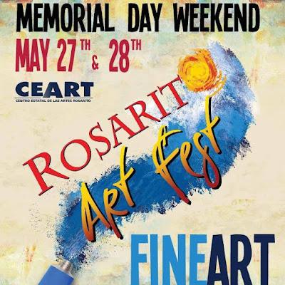 rosarito art fest 2017