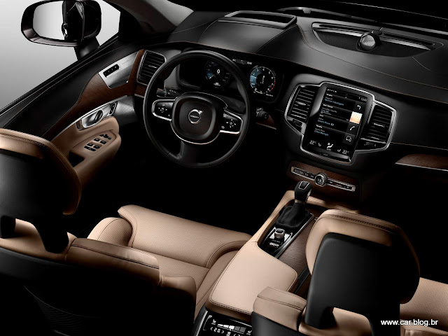 Volvo XC90 2016 Inscription - interior