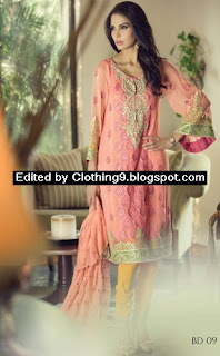 MARIA.B Unstitched Embroidered Suits for Women