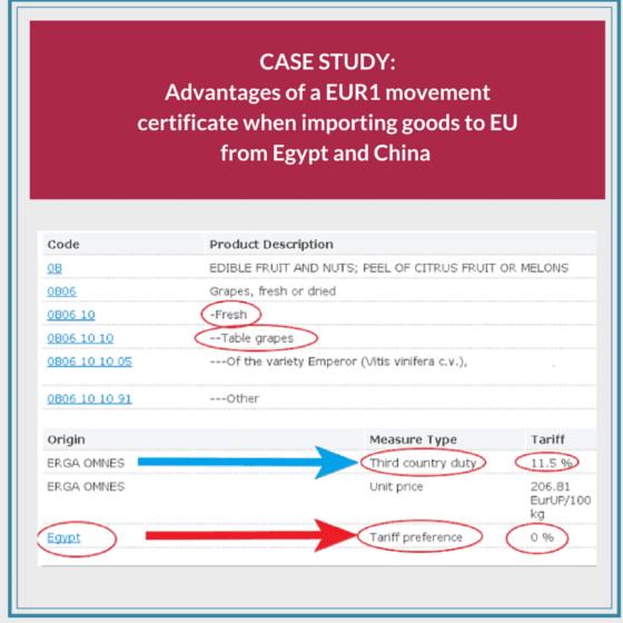 What is EUR1 movement certificate? | AdvancedonTrade com | Export