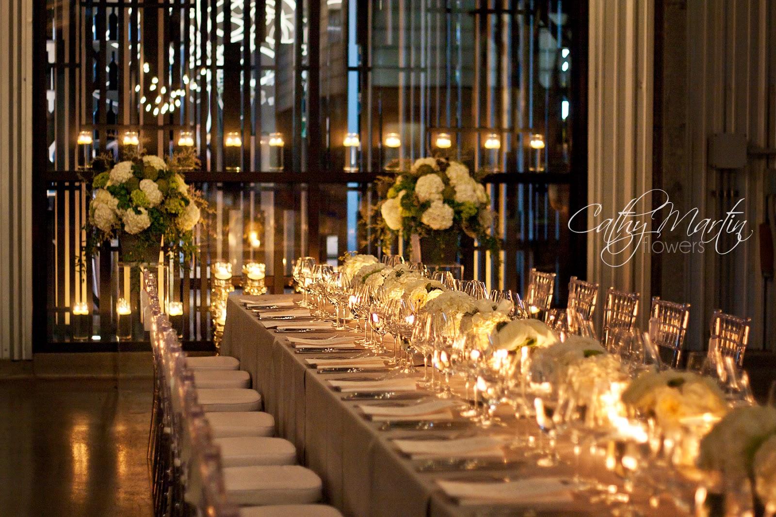 White Wedding At Stratus Winery Cathy Martin Flowers