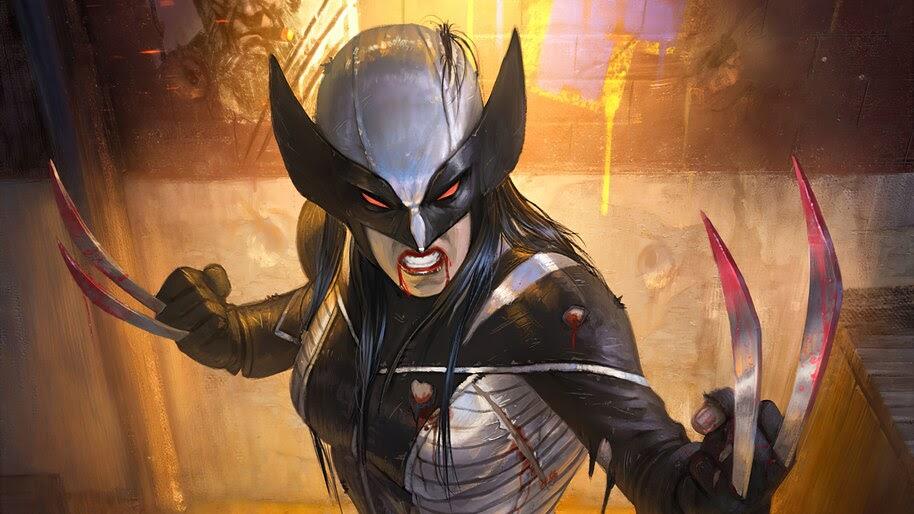 X-23, Claw, Adamantium, Metal, Marvel, Superhero, 4K, #6.1343