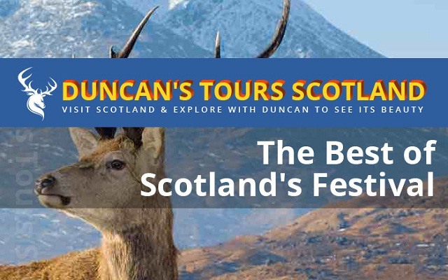 Image: The Best of Scotland's Festival #infographic