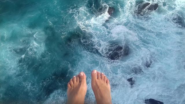 camminata Bondi to Coogee a picco sull'oceano pacifico