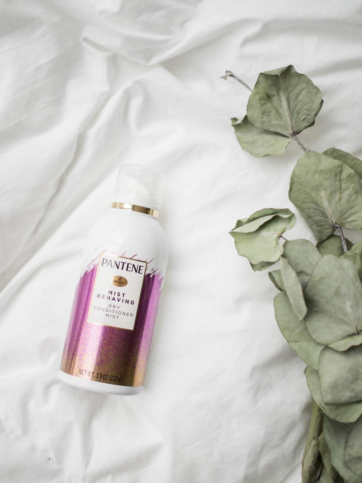 Haircare: Pantene Pro-V Mist Behaving Dry Conditioner Mist - Hiustenhoito, hoitoaine, suihkutettava hoitoaine