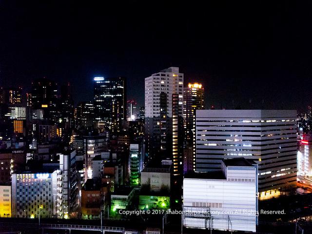 新宿歌舞伎町 はなの舞から見た夜景