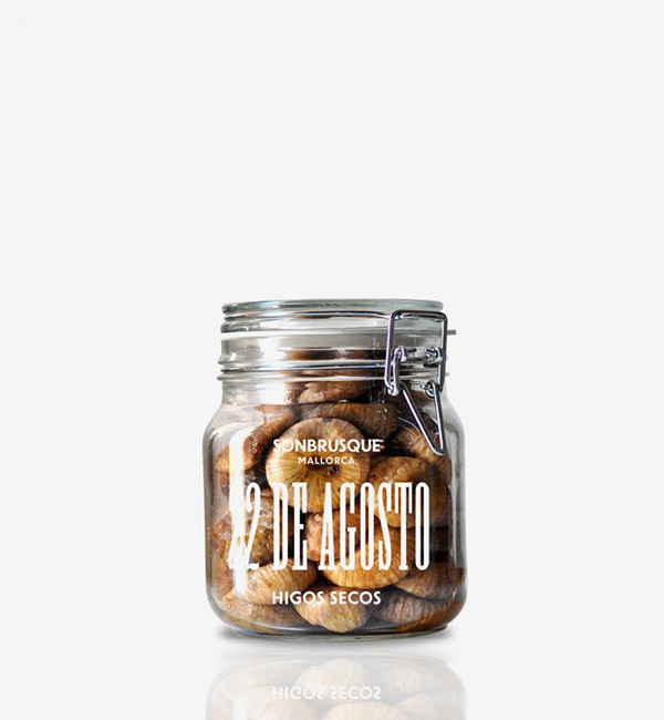 Style mix: Sophisticated | Classic | Rustic | Son Brusque jar food packaging by Astrid Stavro Studio