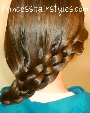 Brilliant Easter Hairstyles The Basket Weave Braid Hairstyles For Girls Hairstyles For Women Draintrainus