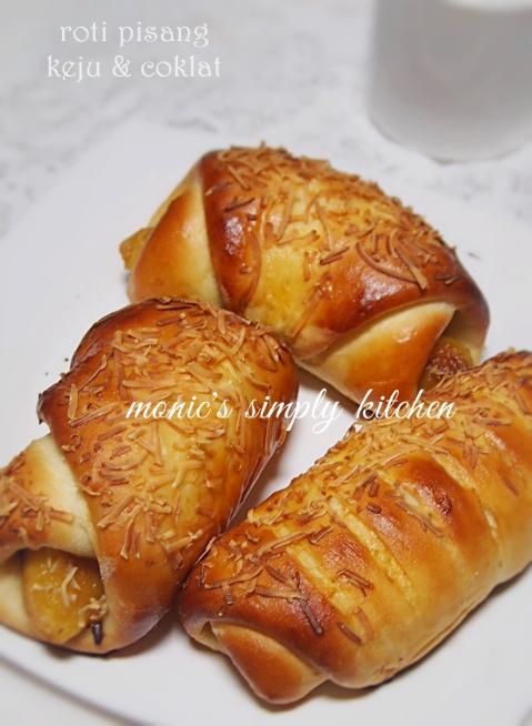 resep roti pisang keju coklat