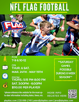 BucksMont NFL Flag Beginner Football Program