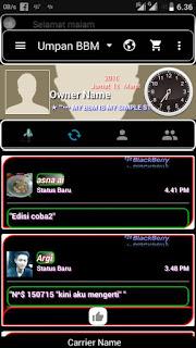 BBM MOD Black Dominan v.02 base 212011 Not clone Apk Terbaru