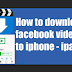 Facebook Video Download Manager