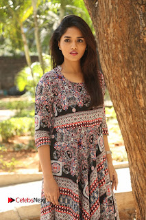 Actress Sunaina Latest Stills in Floral Dress at Pelliki Mundu Prema Katha Trailer Launch  0044.JPG