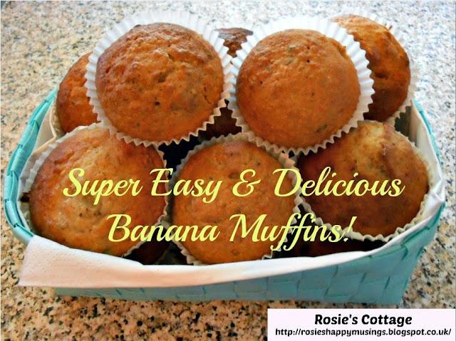 Super Easy & Delicious Banana Muffins Recipe