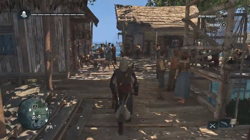 13 Minutes Of Caribbean Open World Gameplay In Assassin S