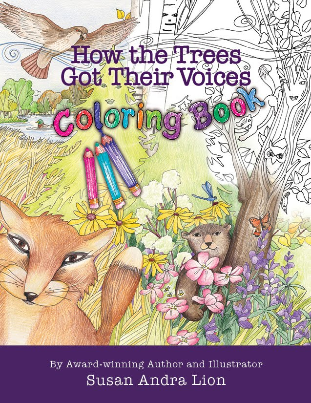 How the Trees Got Their Voices Coloring Book