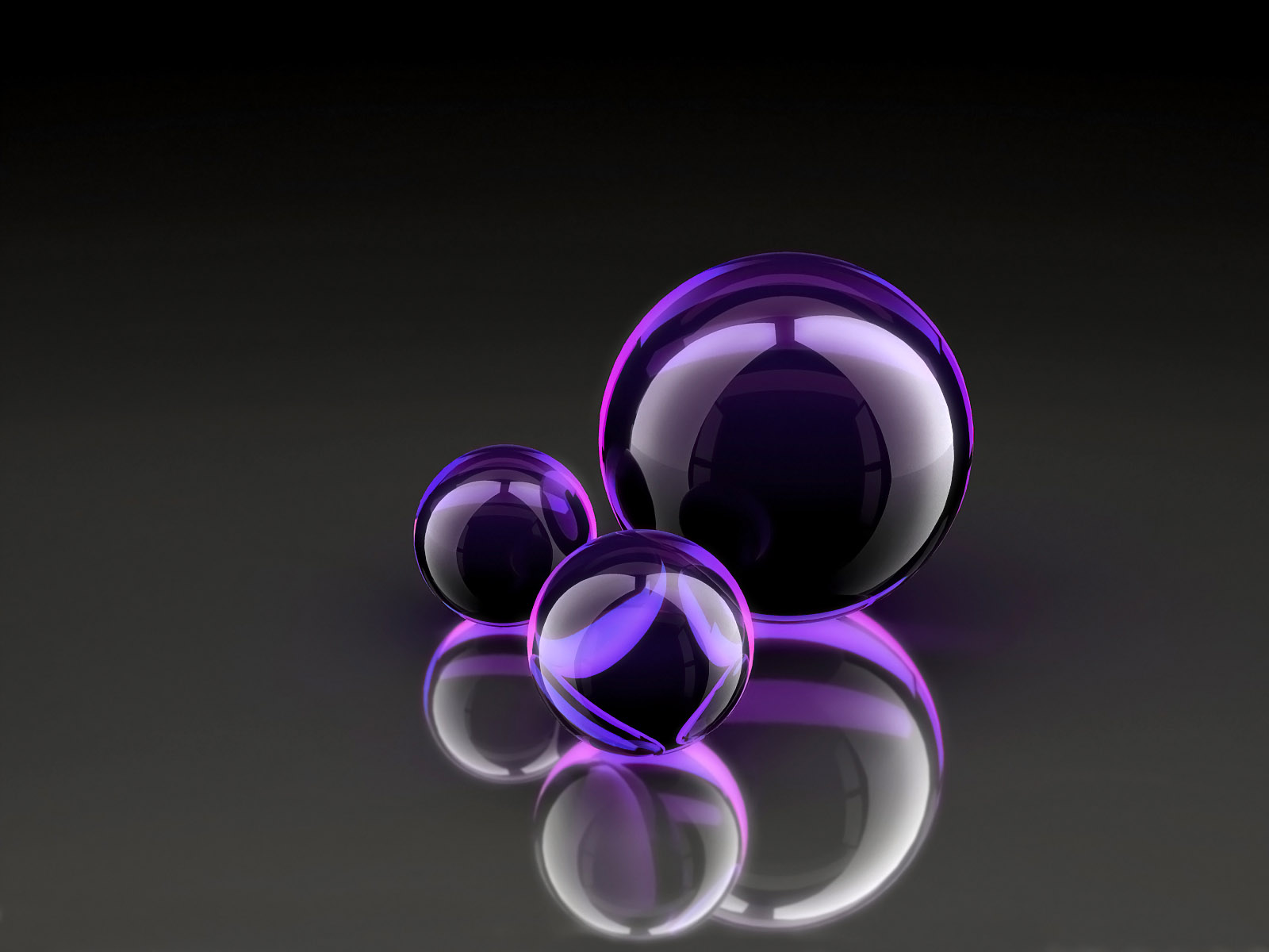 3d Bubbles Wallpaper: New Collections Purple Wallpapers HD