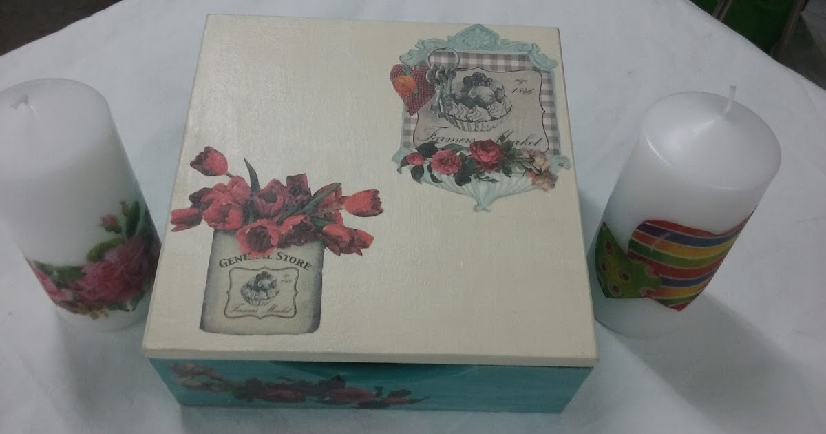 El rinc n de carmen y sus manualidades caja de madera - Servilletas de papel decoradas para manualidades ...