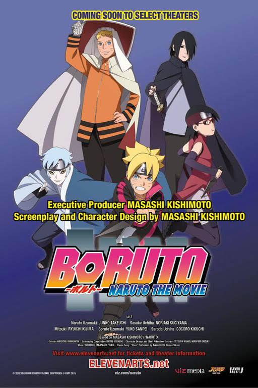 Film Boruto The Movie ( 2015 ) HD Bluray Sub Indo