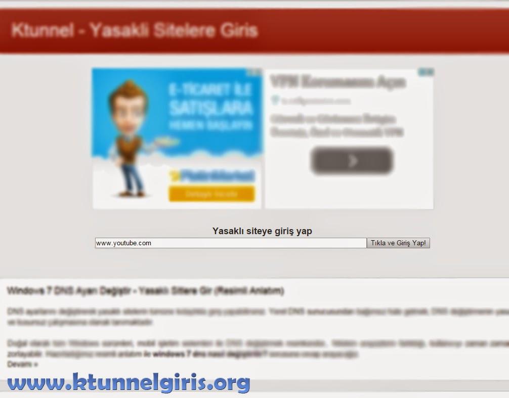 programsız yasaklı sitelere giriş