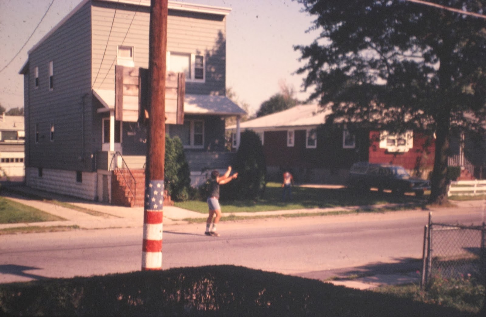 More sports on Simonson ave August 1978