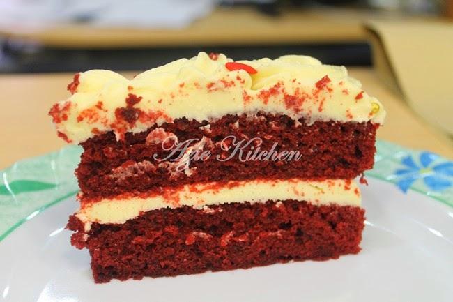 Kek Red Velvet Istimewa