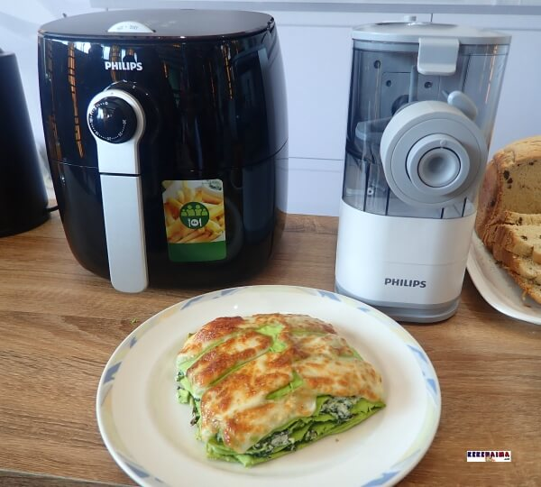 lasagna verde, noodle pasta maker, slow juicer, philips