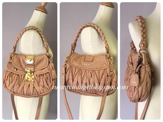 10755b6df373 Miu Miu Matelasse Lux Coffer Bag