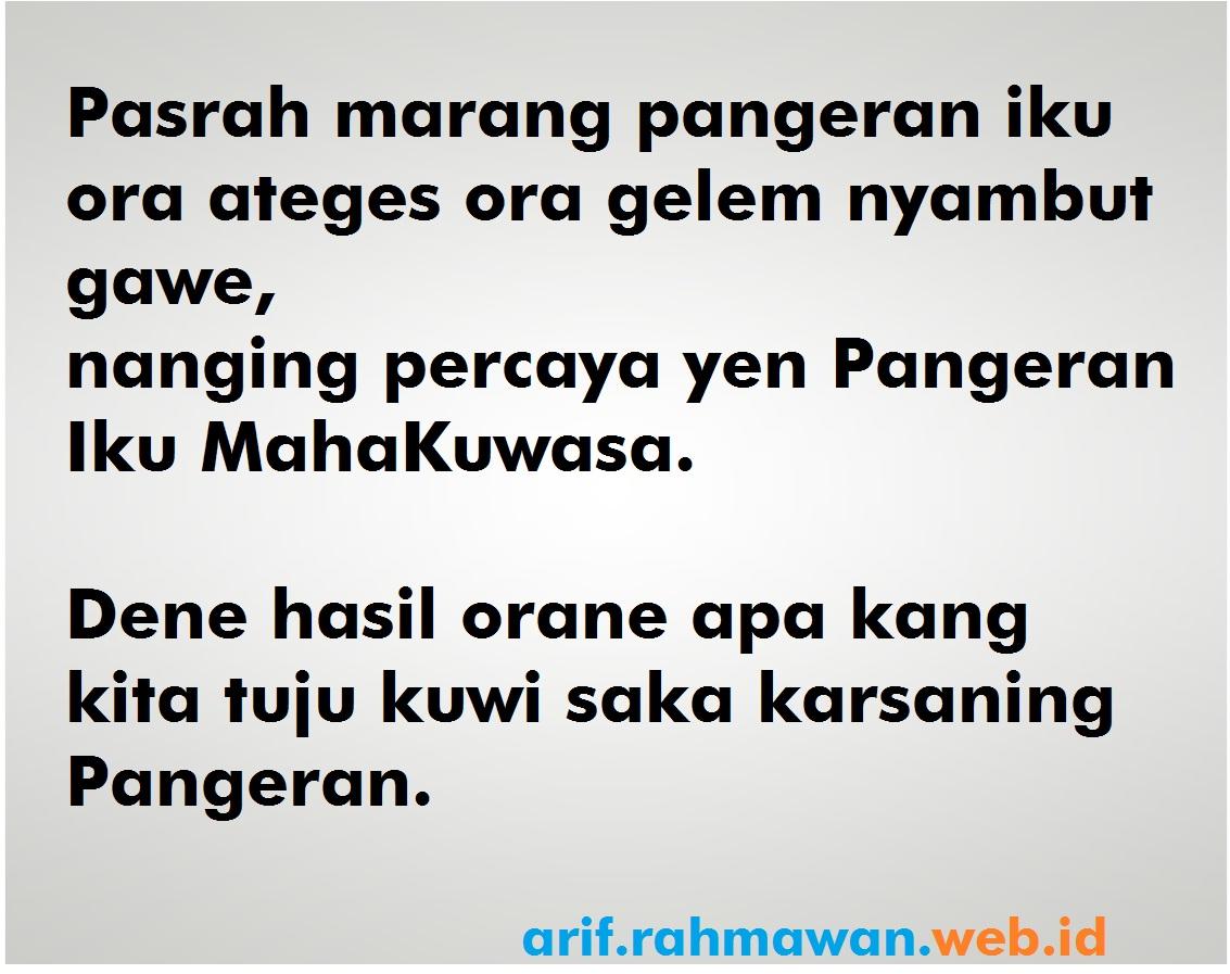 Kata Kata Bersyukur Bahasa Jawa Halus
