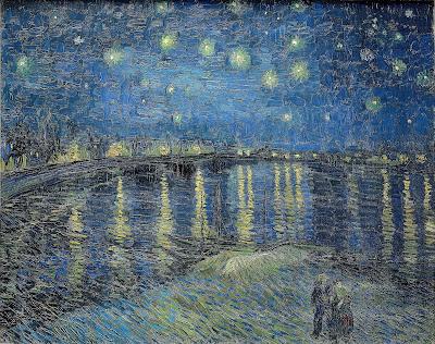 Noite Estrelada Sobre o Ródano, 1888.