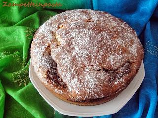 Torta con Nutella e philadelphia - Torta con Nutella