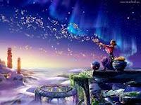 Ma pensée devient comme un clic d'une sourie d'ordinateur qui ouvre une fenêtre, par laquelle je pénètre dans un monde que j'observe, et que  je ne pourrai comprendre tout seul  pour résumer tous ces savoir et toute cette sagesse qui sera dans un futur proche. Seule consolation de ma contemplation ; vivre le moment présent !