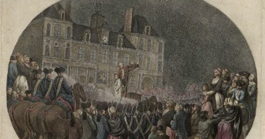 The Execution of Thomas de Mahy, Marquis de Favras
