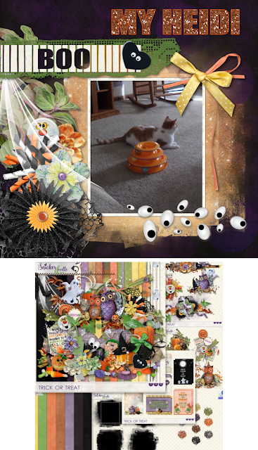 Trick Or Treat Boo 12x12 QP