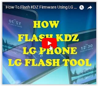 flash LG with LG flash tool