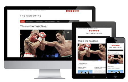 The Newswire theme