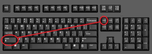 computer keyboard shortcut hindi