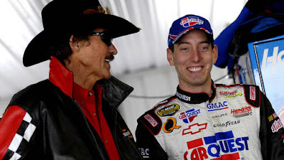 Richard Petty with #NASCAR star Kyle Busch