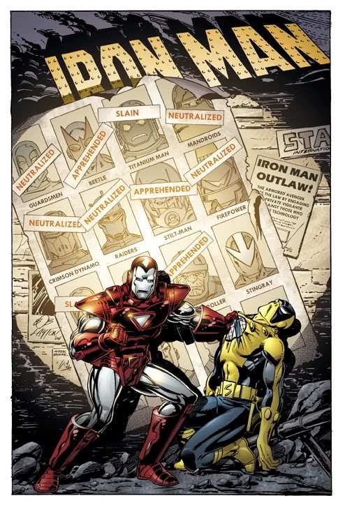 Iron Man Homenaje Uncanny X-Men 141
